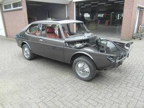 Saab 99 Turbo Restauratie