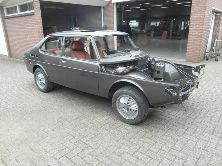 Saab 99 Turbo Restauratie